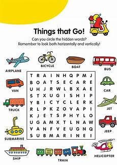 word search k5 worksheets
