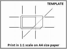 iphone 4 sim card cutting template sim card to micro sim template resume builder resume
