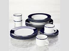 Maison Cobalt Blue 20 Piece Dinnerware Set   Crate and Barrel