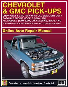 free car repair manuals 1999 gmc suburban 2500 interior lighting 1998 gmc k2500 suburban haynes online repair manual select access ebay