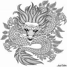 Ausmalbilder Drachen Erwachsene Drachen 26911 Drachen Malbuch Fur Erwachsene
