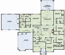 house plans with large kitchen island spacious 5 bed house plan with kitchen island seating up
