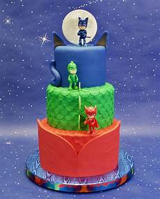 Malvorlagen Pj Masks Cake Pj Masks Birthday Cake Cakecentral