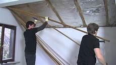 isolation un isolation de toiture par l int 233 rieur