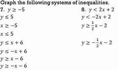 systems of inequalities graphing worksheet by bill bihn tpt