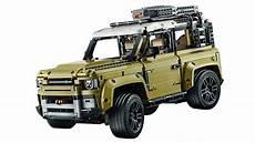 novo land rover defender mostrado em lego auto drive