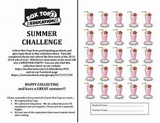 summer collection sheet announcing smoothie party for