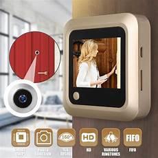 Apartment Door Viewer Bell by Digital Lcd 2 4inch Doorbell Peephole Viewer Door