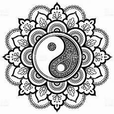 yin yang mandala coloring pages new yin yang coloring