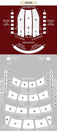 grand opera house york seating plan metropolitan opera house new york ny seating chart