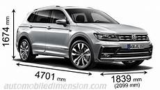 Volkswagen Tiguan Allspace 2018 Dimensions Boot Space And
