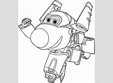 Desenho de Jerome dos Super Wings para colorir