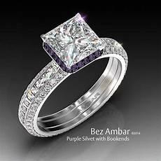 purple diamond wedding rings purple diamond wedding rings diamondstud