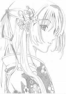 Anime Malvorlagen Gratis Anime Ausmalbilder Malvorlage Gratis
