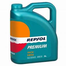 premium tech 5w30 cars repsol