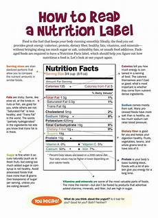 how to read a nutrition label nutrition pinterest