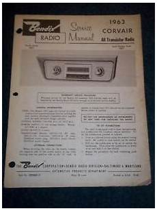 free online auto service manuals 1963 chevrolet corvair 500 navigation system bendix service manual 3bct 1963 corvair car radio ebay