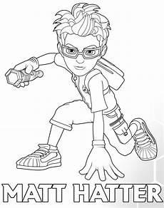 Ausmalbilder Superhelden Matt Hatter Spielzeug Zum Superhelden Aus Dem Multiversum
