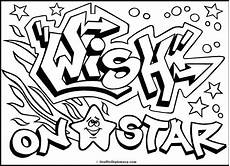 the best free graffiti coloring page images from