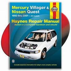 free auto repair manuals 1993 mercury villager electronic toll collection mercury villager repair manual ebay