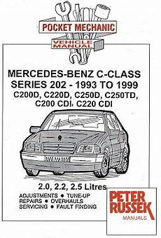 small engine repair training 1999 mercedes benz m class electronic valve timing 1993 1999 mercedes benz c class w202 series c200d c220d c250d c250td c200 cdi c220 cdi