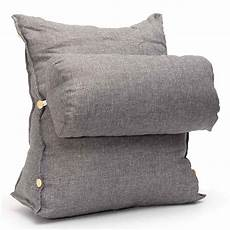 Lumbar Pillows For Sofa by Lumbar Support Cushion For Sofa The Backsac A Portable And