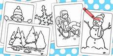 winter worksheets twinkl 20097 new winter colouring sheets twinkl coloring sheets winter activities winter