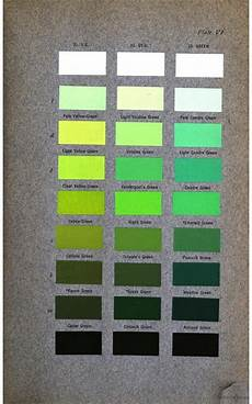 t ford paint code for brewster green