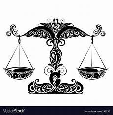 Zodiac Signs Of Libra Royalty Free Vector Image