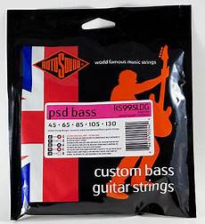 Rotosound Rs995ldg Psd 99 Bass Guitar Strings 5 String