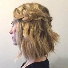 Wasserfall Frisur Kurze Haare 6 Geflochtene