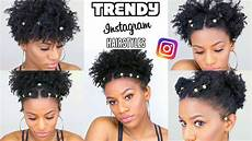 recreating cute natural hairstyles that are trending instagram youtube