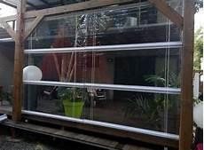 Store Pvc Transparent Sur Mesure Pour Terrasse