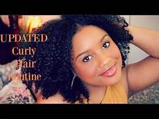 my curly hair routine l updated wash n go 2017 youtube