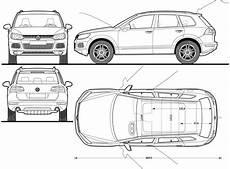 Volkswagen Tiguan 2007 Blueprint Free Blueprint