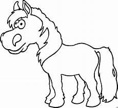 Malvorlage Pferd Comic Kleines Pferd Ausmalbild Malvorlage Comics
