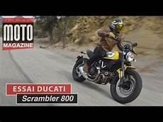 Ducati Scrambler 800 Une Nouvelle Race De Moto Essai