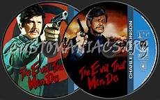 charles bronson collection the evil that men do dvd label dvd covers labels by