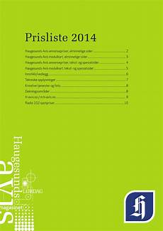 prisliste 2014 by h avis no issuu