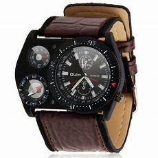 Sports Car Watches by New Fashion Mens Sport Car Army Leather Sports