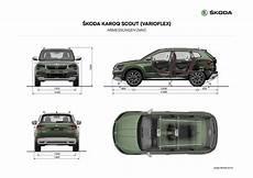 Skoda Karoq Abmessungen - infografiken škoda storyboard