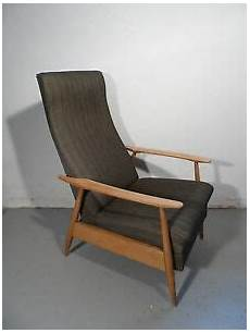 sessel 60er design 60er sessel easy chair liegefunktion mid century