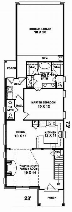 house plans for narrow lots with rear garage havercliff narrow lot home plan 087d 0100 house plans