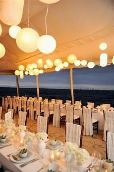 wedding reception on the beach beach wedding reception