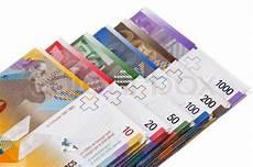 bearbeitungszeit kredit essen bank swiss francs money and currency of stock image