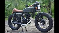 Modif Cafe Racer by Modifikasi Cafe Racer Honda Gl Pro