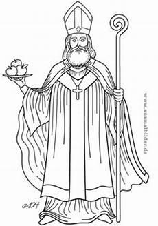 sankt nikolaus am 6 dezember feiert den heiligen