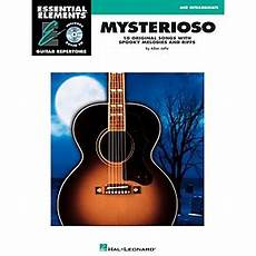 essential elements guitar hal leonard mysterioso mid intermediate essential elements guitar repertoire book cd