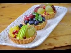 Crostatine Golose Alla Frutta Youtube | ricetta delle crostatine alla frutta youtube