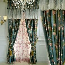 Landhaus Gardinen Landhausstil - american country style curtain without valance print